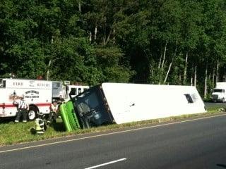 Bus accident TI Caption