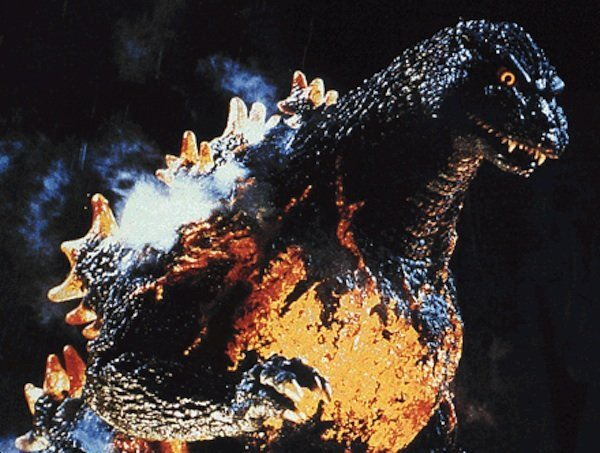 Why is there a picture of Godzilla? Because. That's why.
