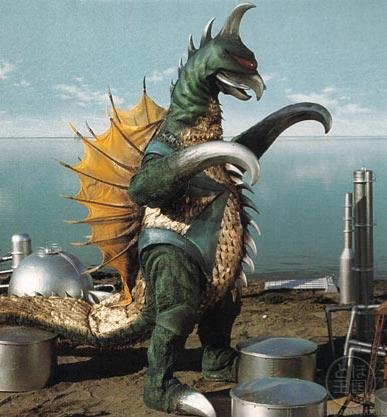 """The monster pictured here, Gigan, had this to say about OWN: """"SKREEE!"""""""