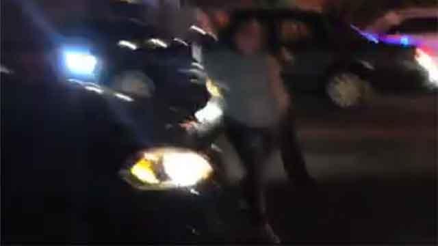 © FoxNY  - Slammed by Cops